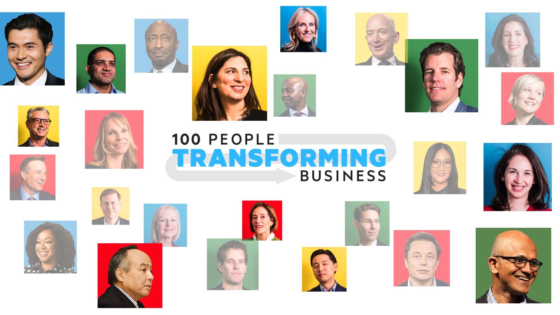 The 100 people transforming the world of business