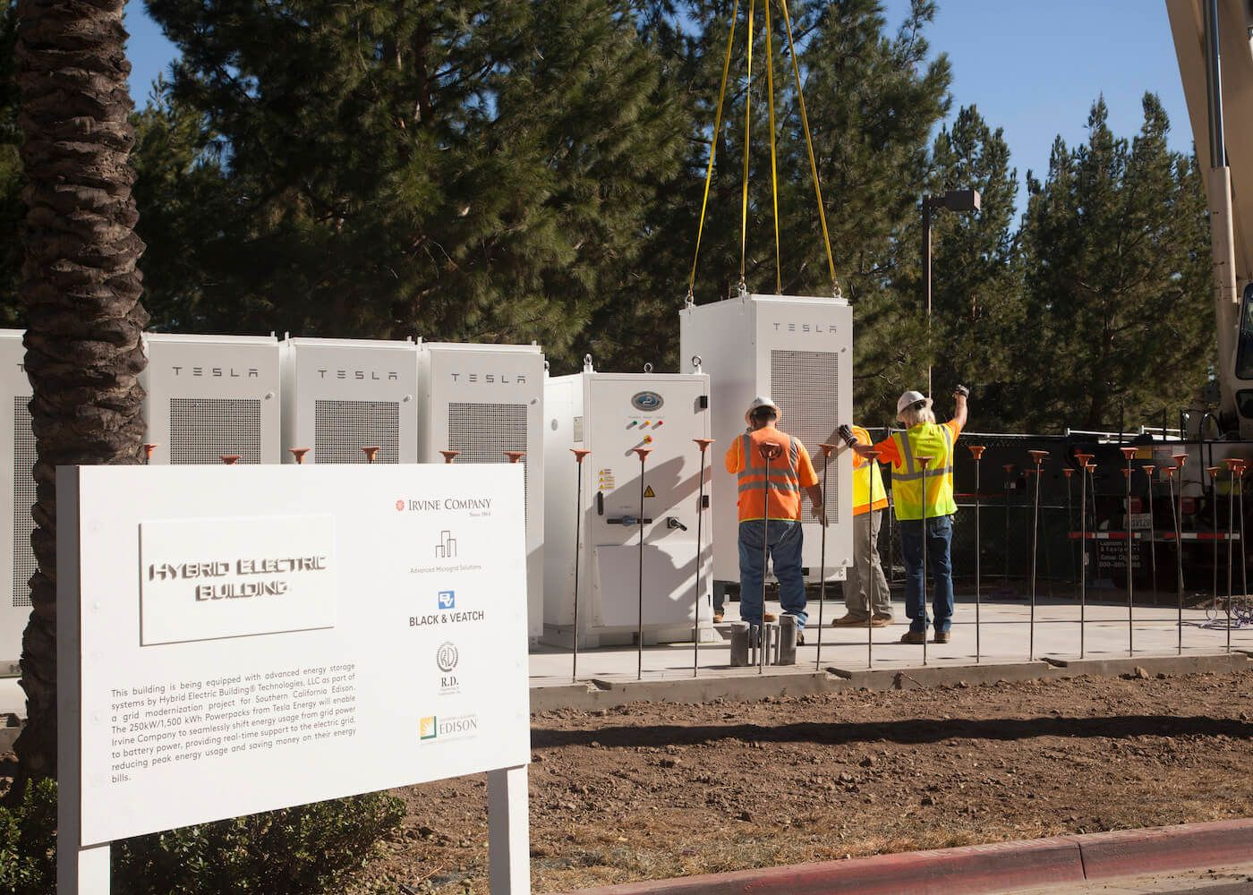 Advanced Microgrid Solutions is leading a project to replace the power from a decommissioned nuclear plant with solar arrays and batteries.